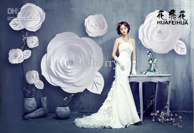 Wholesale Paper Flowers Buy Window Display Large Paper