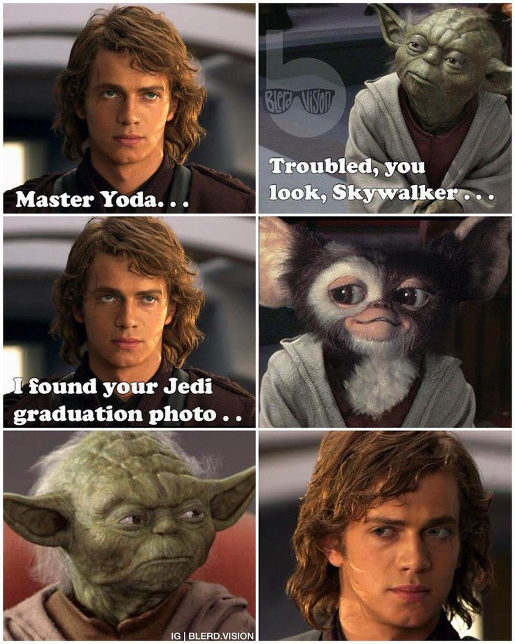 """""""Getting real tired of your sht Yoda is."""" Apparently"""