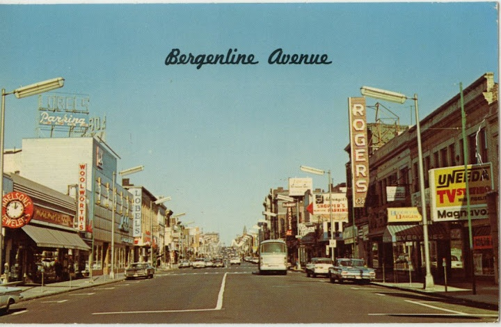 Postcard from West New York's Bergenline Avenue Did a lot