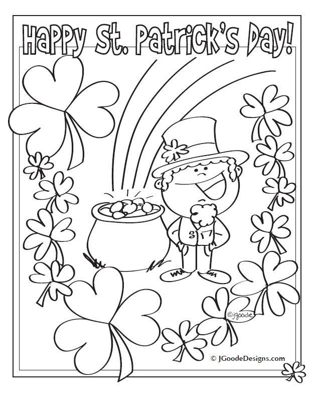 st patrick 39 s day st patrick and coloring pages on pinterest