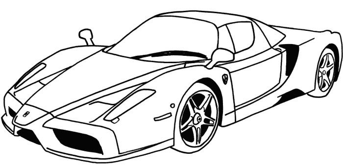 sports car coloring pages druntk