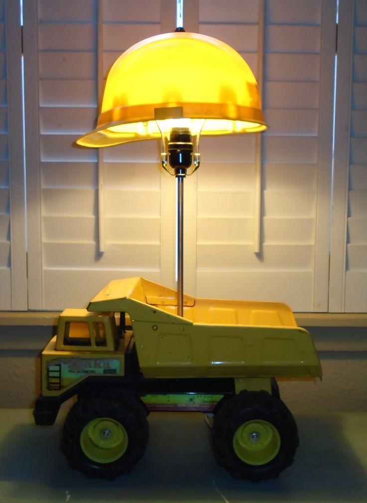 Tonka Dump Truck Lamp J Dooley Let There Be Light