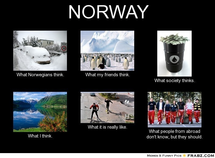 NORWAY... Meme Generator What i do Meanwhile in Norway
