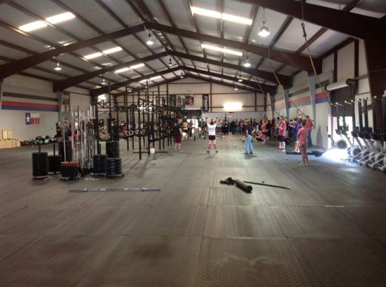 CrossFit gym of today