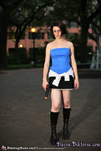Jill Valentine Resident Evil Cosplay Costume Jill