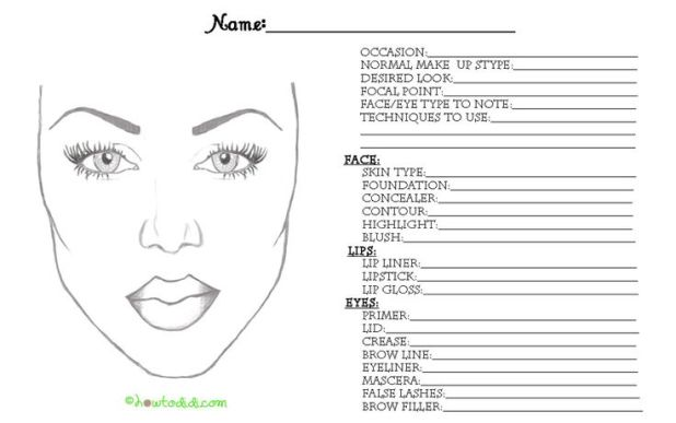 Wedding Makeup Consultation Template Hairstly Org