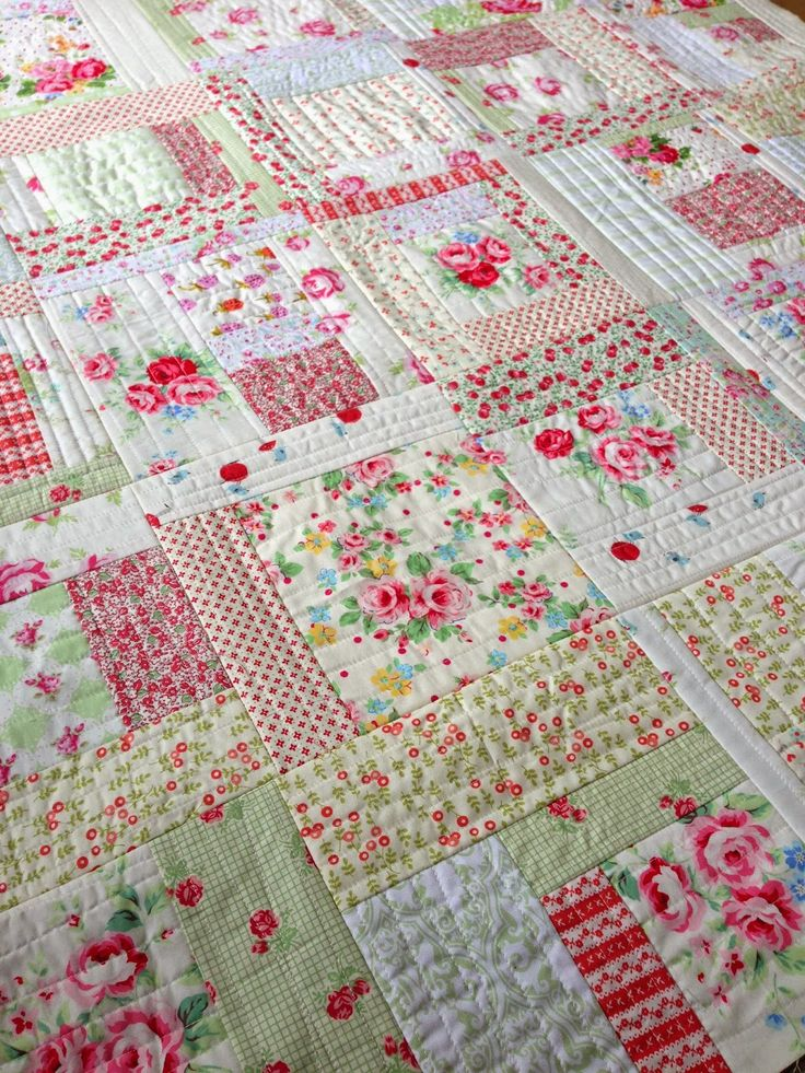 Low volume prints with a lot of white. I love this. Quilting In The Rain