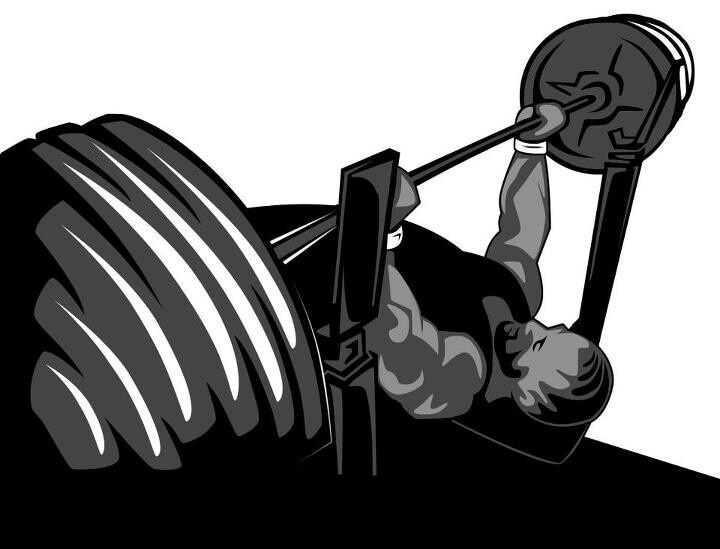 Bench Press Logo Powerlifting Pinterest Bench Press