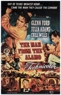 Image result for JULIE ADAMS AND GLENN FORD IN THE MAN FROM THE ALAMO