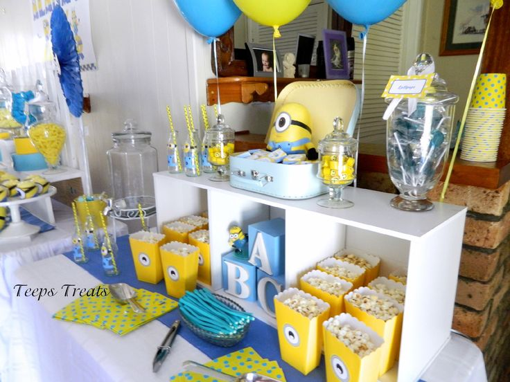 Image Result For Minion Baby Shower Cakes