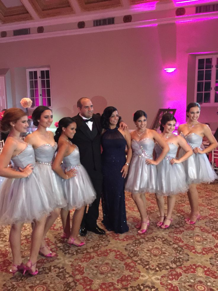 1000 Images About Quinceanera Court Dress On Pinterest