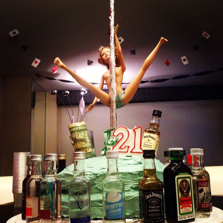 Little Brothers 21st Birthday Cake We Likes To Party
