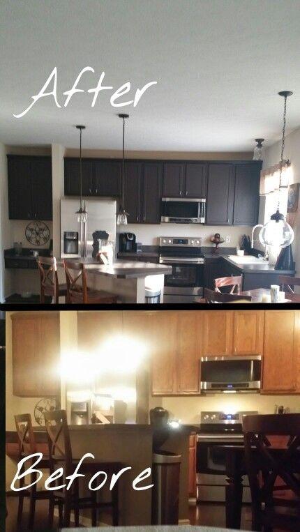 My Kitchen Rustoleum Cabinet Transformation Kit In