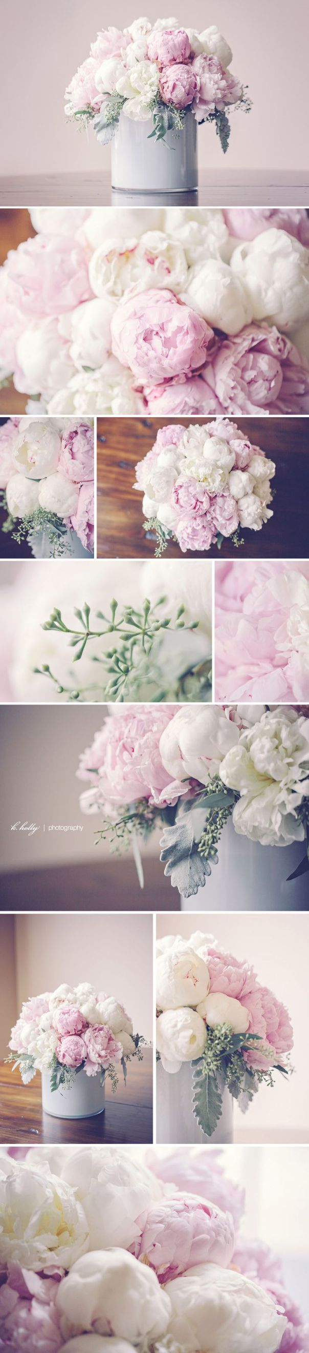 pink and white peonies! | chilean peony bouquet by Modern Day Floral, grand rapids michigan | photographed by k.holly
