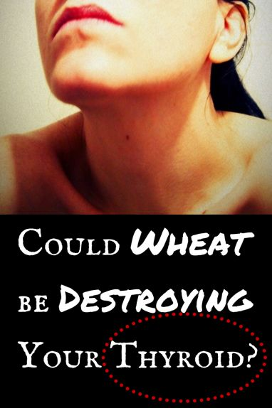 Could Wheat be Destroying Your Thyroid? Find out more about the gluten – thyroid connection.
