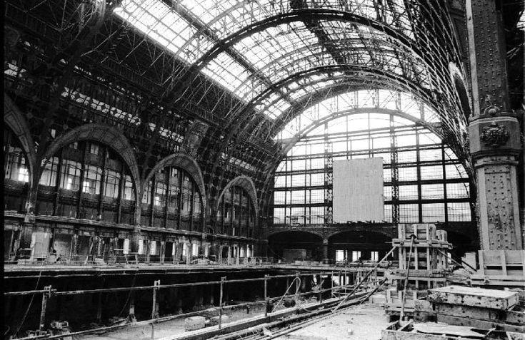 Construction de la gare d'Orsay La Belle Époque