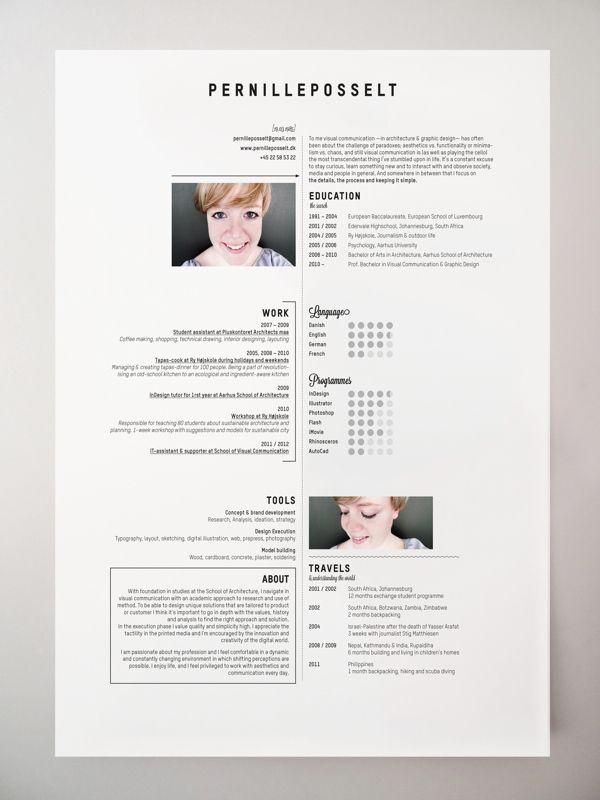 creativos on pinterest curriculum resume and creative resume