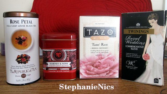 Tazo Rest Tea Of Tea Rose Petal Harney Amp Sons