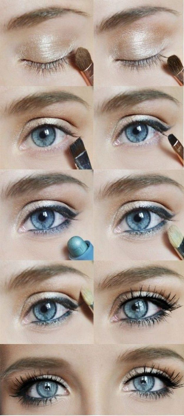 eye makeup tutorial for blue eyes red hair | saubhaya makeup