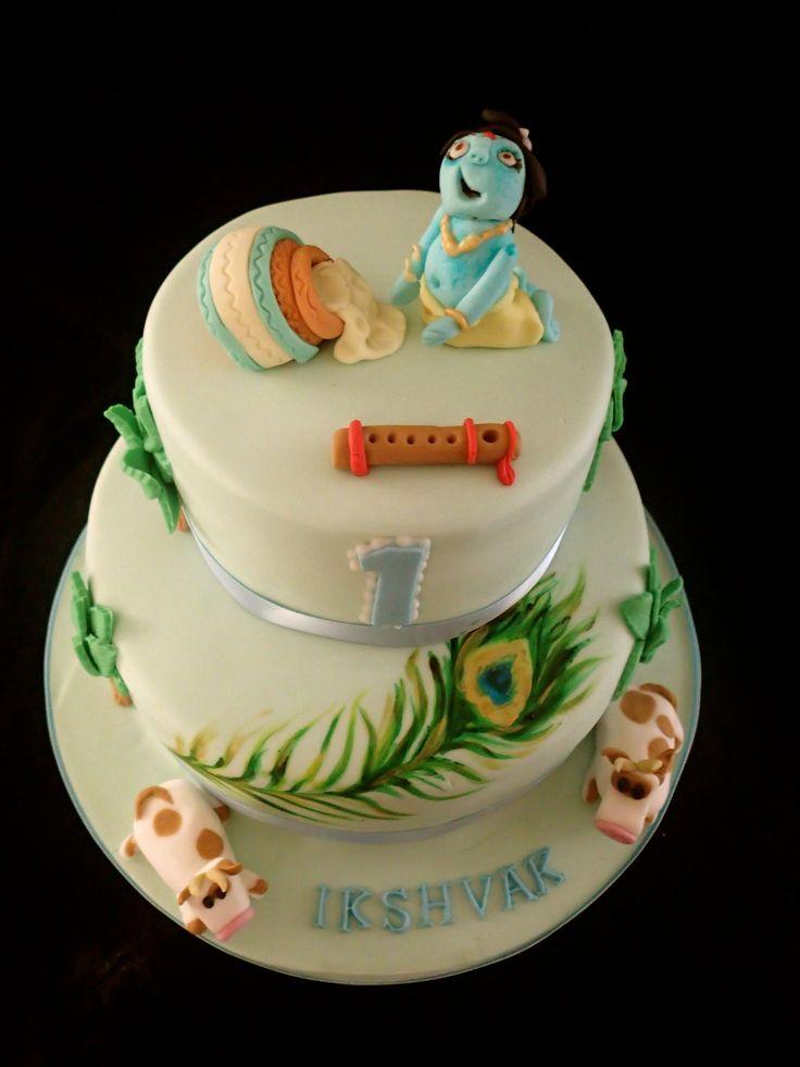 Krishna Birthday Krishna And Birthday Cakes On Pinterest