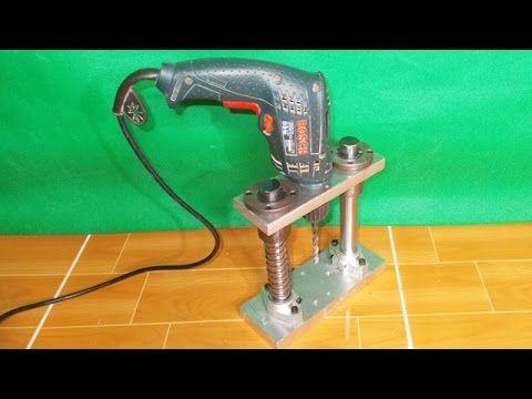 Angle Drill Guide DIY Homemade Press Drill Power Multi