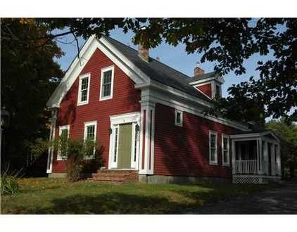 Red House Green Door Houses Pinterest Real Estates