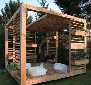 This is apparently a garden shed. I say its a little bit of heaven in the garden