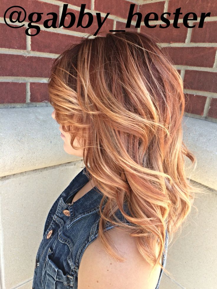 1000 Ideas About Light Copper Hair On Pinterest Light