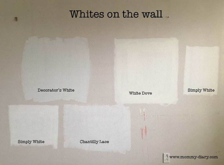 Simply White Vs Chantilly Lace Benjamin Moore Paint
