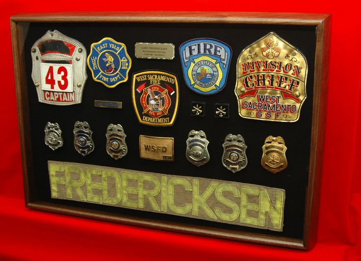 Displaying a long career in the fire service this custom