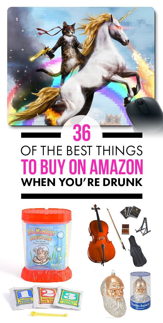 36 Of The Best Things To Buy On Amazon When You're Drunk