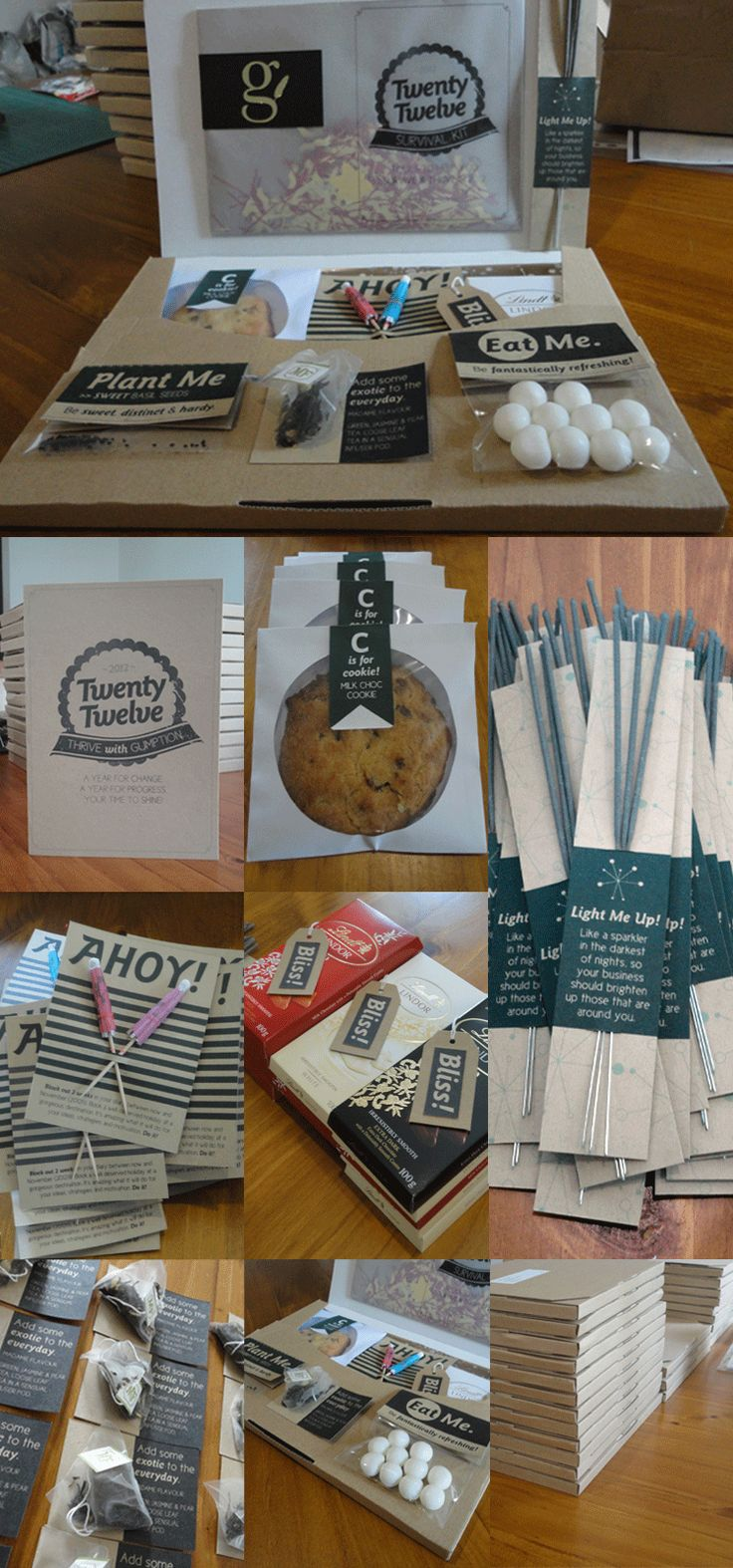 New Year Client Gift Ideas Survival kits, Survival and