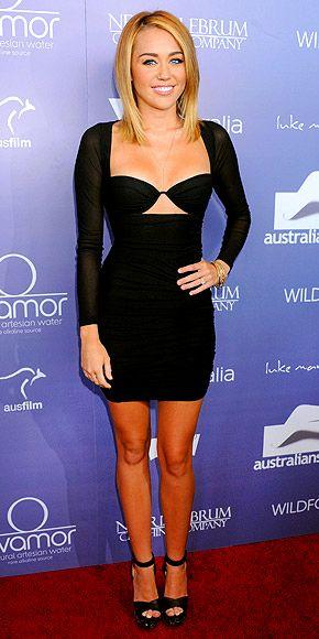 MILEY CYRUS photo | Miley Cyrus  Zimmerman dress
