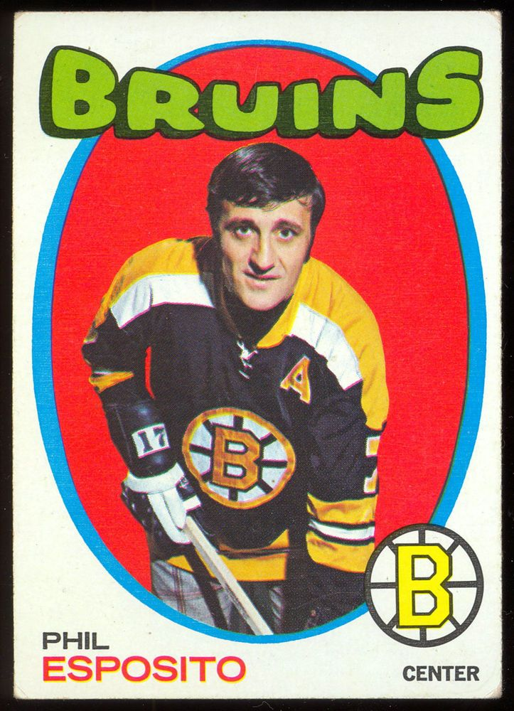 197172 topps 20 phil esposito exnm boston bruins hockey