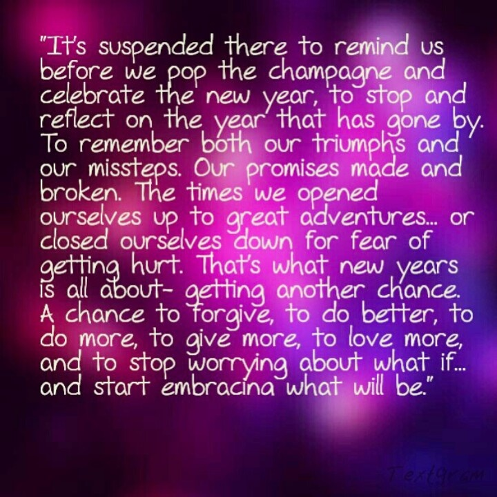 """Quote from the movie """"New Year's Eve""""... Quotes"""