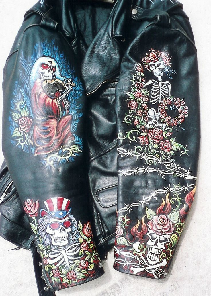 how to paint a leather jacket Google Search leather