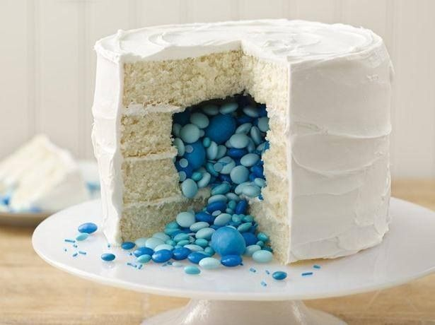 """Gender reveal cakes: """"If th"""