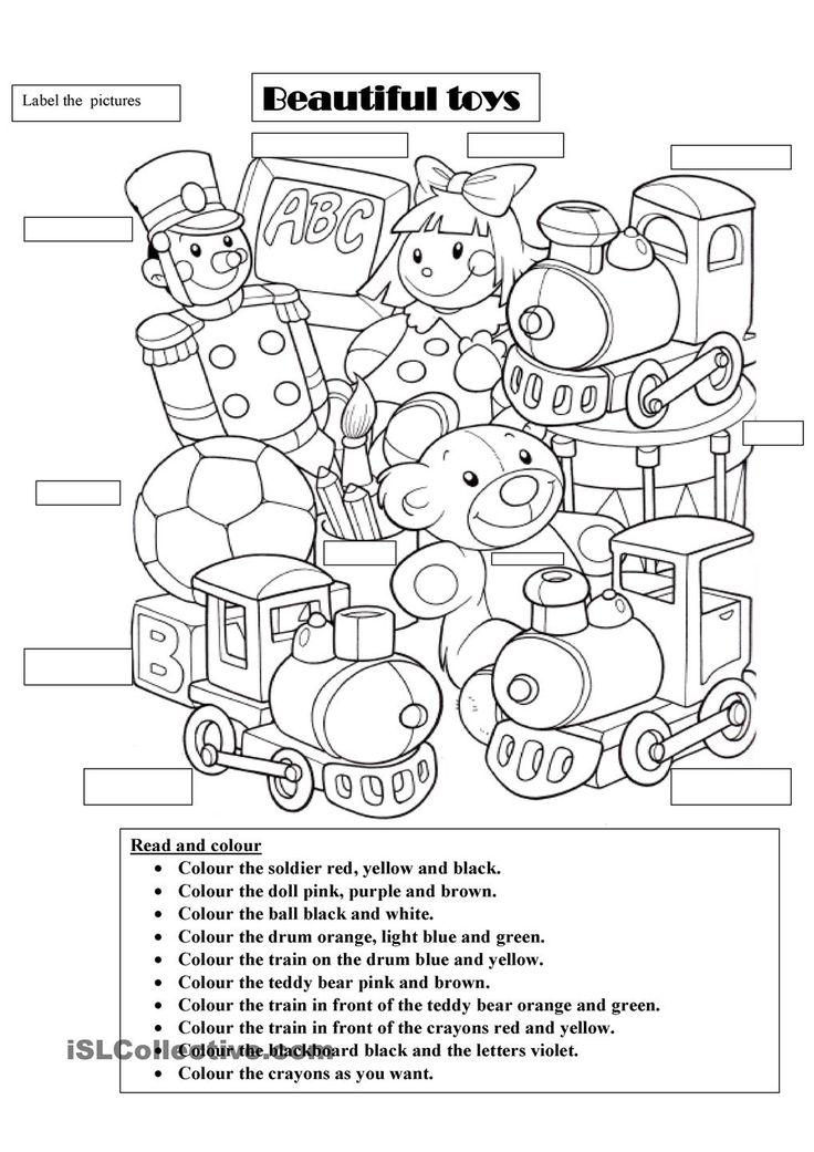 Beautiful toys Teaching KIDS ESL Pinterest Toy and