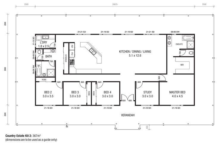 Metal Building House Plans 40x60