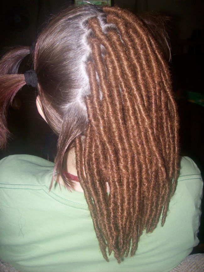 Dread Extensions On Short Hair Hairstly