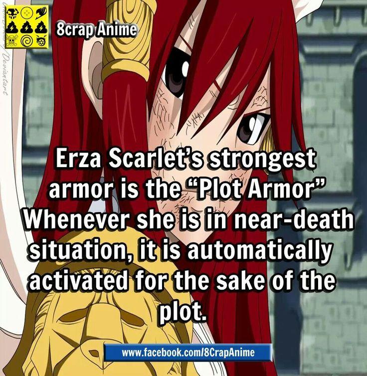 Plot Armor Erza Scarlet/ Nightwalker Pinterest
