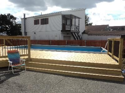 Decks For Intex Pools Pool Deck In Providence Ri