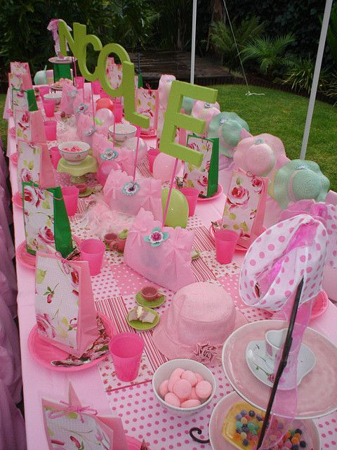 English High Tea Party By Treasures And Tiaras Kids