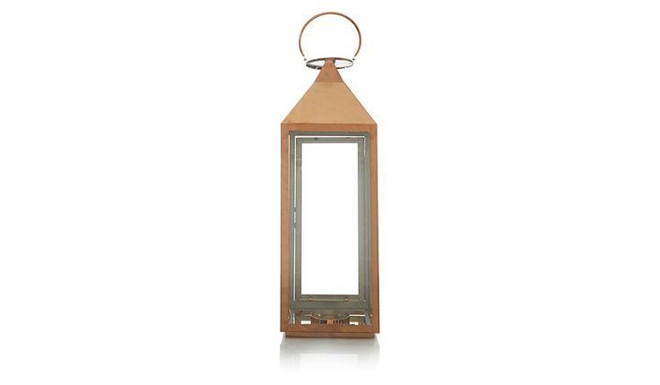 1000+ Ideas About Copper Lantern On Pinterest