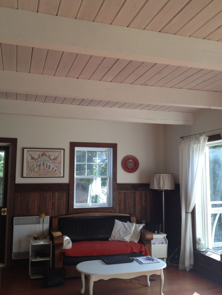 72 Best Images About Whitewashed Ceiling Beams On