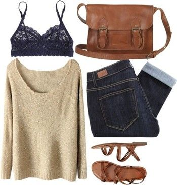 Comfy casual fall fashion… all this needs is a Baby-G