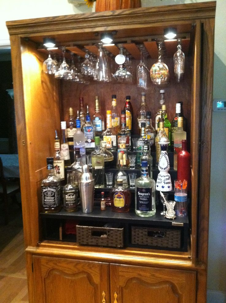 Now This Is A Liquor Cabinet My Next Big Project My