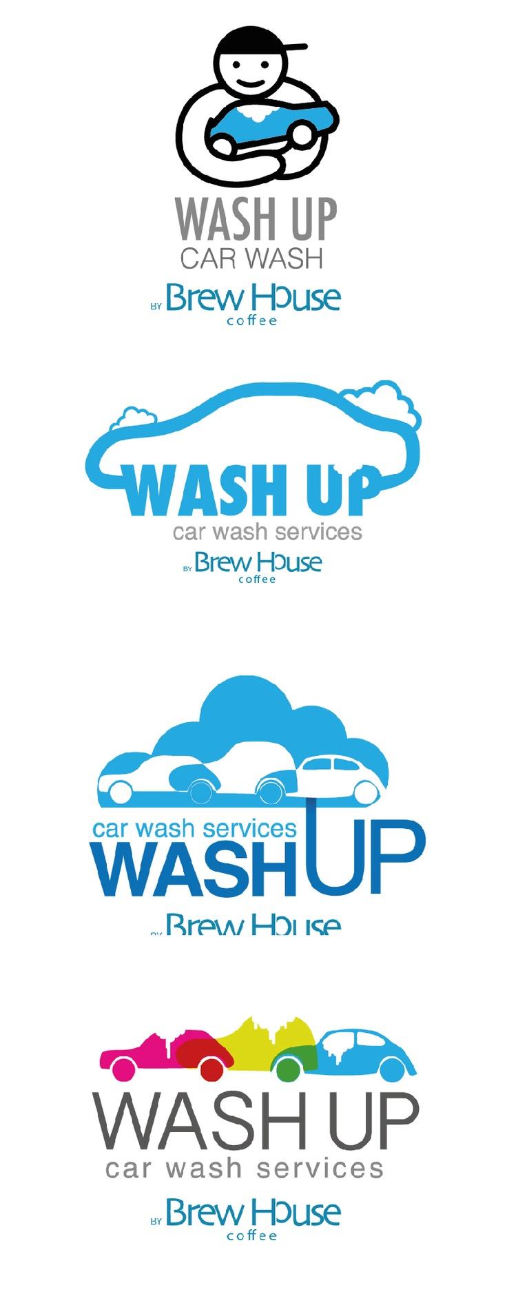 wash up logo / Car wash Logo Community Pinterest