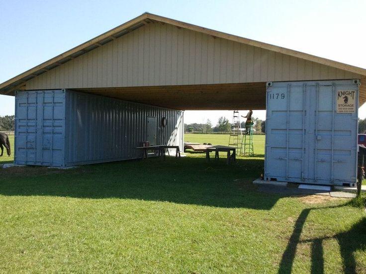 Cargo Container Barn Trusses Cargo Container Barn Ideas