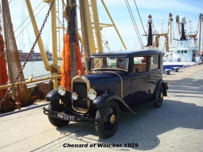 Chenard and Walcker Y9C 1929 French classic cars